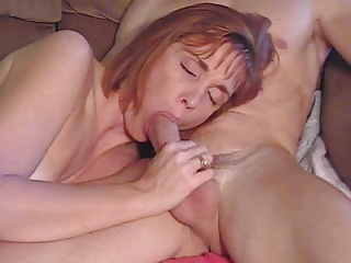 Mature Sucks Cock And Gets Cum Spurt In Hair | Squirt.top Porn Tube