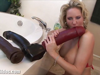Busty Milf Squirting From A Huge Dildo | Squirt.top Porn Tube