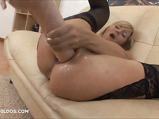 Big Brutal Anal Dildo And Squirting | Squirt.top Porn Tube