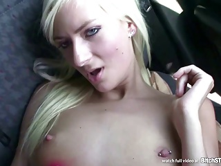Bitch STOP – Squirting Blonde Fucked In The Car | Squirt.top Porn Tube