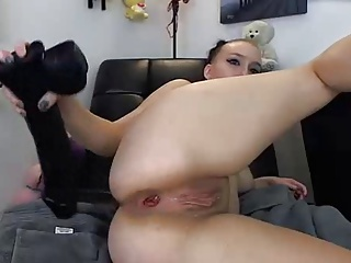 Huge Anal Fuck Toy In Ass With Big Squirt Job | Squirt.top Porn Tube