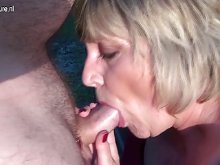 Pervert Granny Squirts And Takes Hard Cock | Squirt.top Porn Tube