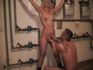 She Squirts Tied Up In The Basement | Squirt.top Porn Tube