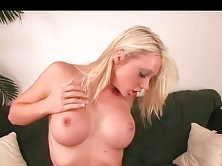 Blonde Squirts On The Sybian | Squirt.top Porn Tube