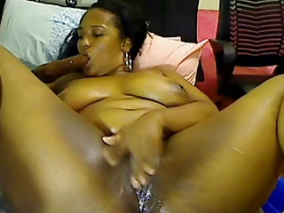 Ebony Squirt Slut Is Fingering | Squirt.top Porn Tube