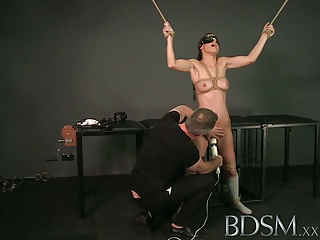 BDSM XXX Tied Up Sub Beauty Gets Masters Full Attention | Squirt.top Sex Tube