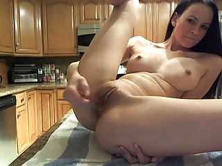 She Squirts On The Kitchen Table | Squirt.top Porn Tube