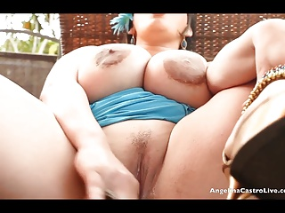 Angelina Castro Makes Her Unstoppable Cuban Pussy SQUIRT! | Squirt.top Porn Tube