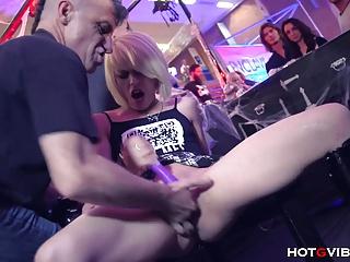 Petite Punk Squirts In Public | Squirt.top Porn Tube