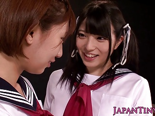 Tiny Asian Schoolgirls Enjoy Lesbian Love With Squirting | Squirt.top Porn Tube
