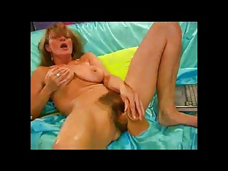 Horny Hairy Milf With Her Dildo BVR | Squirt.top Porn Tube