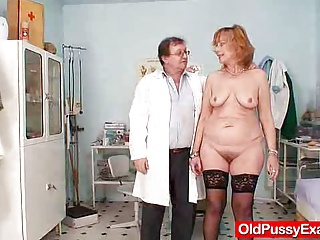 Redhead Gran Pussy Gaping At Gyno Clinic | Squirt.top Porn Tube