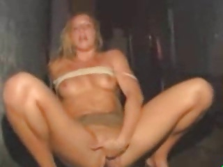 Chick Masturbates Behind Club. | Squirt.top Sex Tube