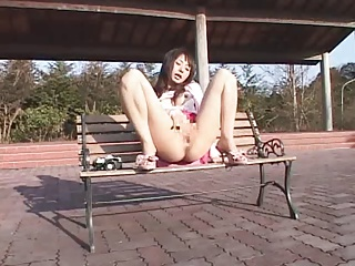 Japanese Girl Masturbates Outside And Squirts | Squirt.top Porn Tube