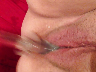 Slut Squirting On A Glass Dildo | Squirt.top Sex Tube