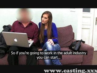 Stunning Young Girl At Her First Casting | Squirt.top Sex Tube