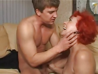 German Redhead Mature Squirting For Young Man | Squirt.top Sex Tube