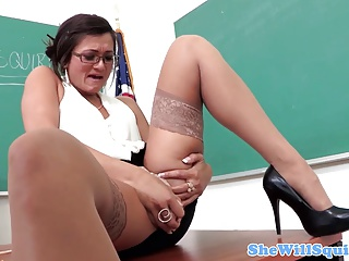 Squirting Teacher Fucked By Her Horny Student | Squirt.top Porn Tube