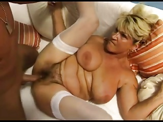 Renate Fucking And Squirting On White Sofa BVR | Squirt.top Porn Tube