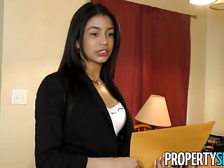 PropertySex – Latina Agent Cheers Up Client With Some Sex | Squirt.top Porn Tube