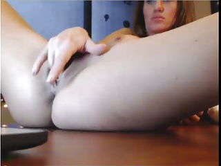 Sexy Boss Squirting On Her Desk | Squirt.top Porn Tube