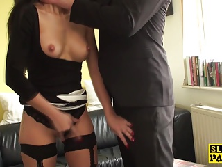 Degraded Euro Sub Throatfucked Furiously | Squirt.top Porn Tube